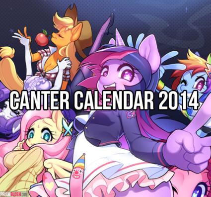 Canter Calendar 2014