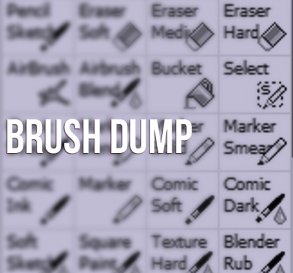 Paint Tool Sai Brush Dump